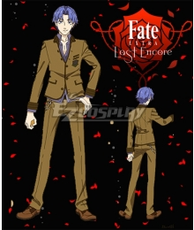 Fate EXTRA Last Encore Shinji Matou Cosplay Costume