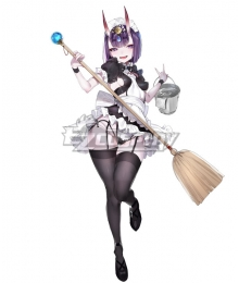 Fate Grand Order Assassin Shuten Douji Maid Cosplay Costume