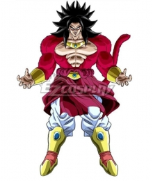 Super Dragon Ball Heroes Broly Cosplay Costume
