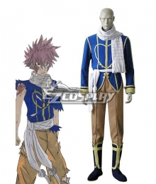 Fairy Tail Dragon Slayers Natsu Dragneel Celestial Spirit Cosplay Costume