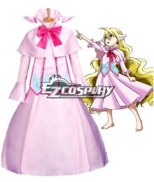 Fairy Tail Mavis Vermilion Meibisu Vamirion Cosplay Costume