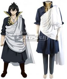 Fairy Tail The Black Wizard Zeref Dragneel Cosplay Costume - A Edition