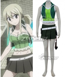 Fairy Tail Tenrou Island Arc Lucy Heartfilia Cosplay Costume