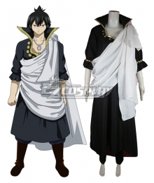 Fairy Tail The Black Wizard Zeref Dragneel Cosplay Costume - B Edition