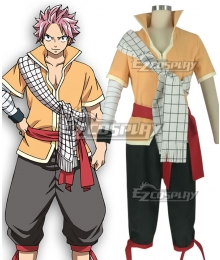 Fairy Tail: Dragon Cry Natsu Dragneel Cosplay Costume