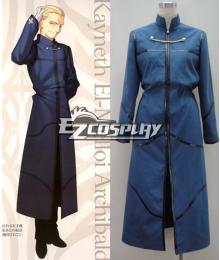 Fate Zero Kayneth El-Melloi Archibald Cosplay Costume
