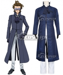Gundam Build Fighters Master Kawaguchi Cosplay Costume