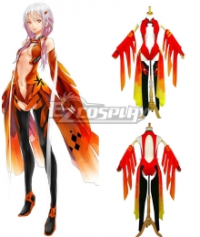 Guilty Crown Inori Yuzuriha Sexy Robe Outfit Cosplay Costume
