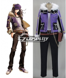 God Eater 2 Gilbert McLane Cosplay Costume
