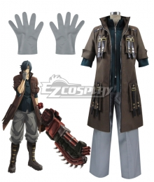 God Eater Rindou Amamiya  Lindow Amamiya TV Version Cosplay Costume