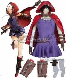 God Eater 2 Rage Burst Livie Collete Cosplay Costume