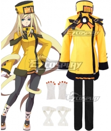 Guilty Gear Millia Rage Yellow Cosplay Costume