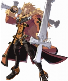 Guilty Gear Xrd Leo Whitefang Cosplay Costume