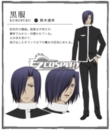 Brynhildr in the Darkness / Gokukoku no Brynhildr Kurofuku Cosplay Costume