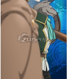 Grimoire of Zero Holdem Green Cosplay Costume