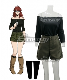 Gangsta Gyangusuta Ginger Cosplay Costume