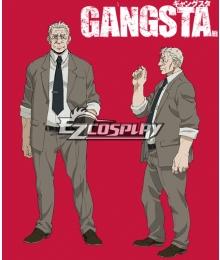 Gangsta Gyangusuta Police Chad Adkins Cosplay Costume