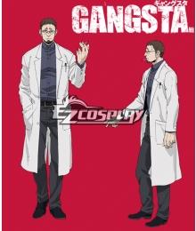 Gangsta Gyangusuta Dr.Theo Cosplay Costume