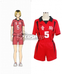 Haikyu!! Haikyuu!! Second Season Nekoma High Nekoma Koukou Kozume Kenma Cosplay Costume
