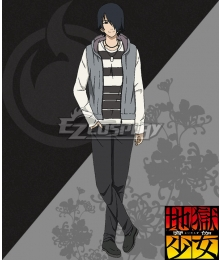 Hell Girl: Yoi no Togi Ichimokuren Cosplay Costume