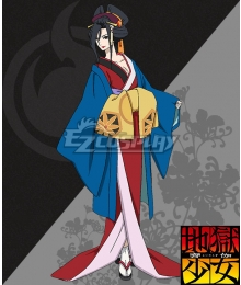 Hell Girl: Yoi no Togi Honeonna Cosplay Costume