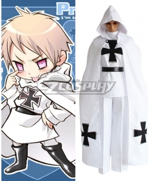 Axis Powers Hetalia Chibi Prussia Cosplay Costume