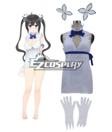 DanMachi Familia Myth Is It Wrong to Try to Pick Up Girls in a Dungeon Danjon ni Deai o Motomeru no wa Machigatteiru Daro ka Hestia Hesutia Cosplay Costume