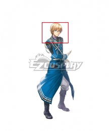 Eiyuden Chronicle: Hundred Heroes Seign Kesling Golden Cosplay Wig