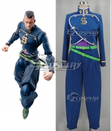 JoJo's Bizarre Adventure: Diamond Is Unbreakable Okuyasu Nijimura Cosplay Costume