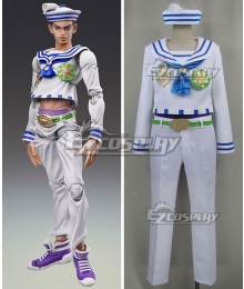 JoJo's Bizarre Adventure JoJolion Josuke Higashikata Cosplay Costume