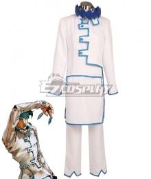 JoJo's Bizarre Adventure Rohan Kishibe white Cosplay Costume