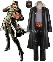 JoJo's Bizarre Adventure: Stardust Crusaders Jotaro Kujo Cosplay New Costume