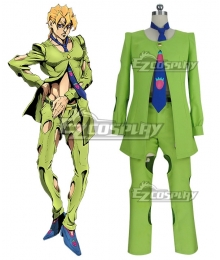 JoJo's Bizarre Adventure: Vento Aureo Golden Wind Anime Edition Pannacotta Fugo Cosplay Costume