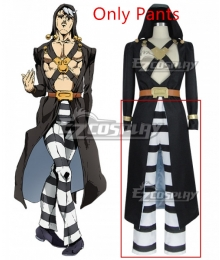 JoJo's Bizarre Adventure: Vento Aureo Golden Wind Risotto Nero New Edition Cosplay Costume