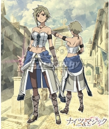 Knight's & Magic Hellvy Oberi Cosplay Costume