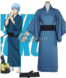 Kuroko's Basketball Kuroko Tetsuya Kimono Bath Robe Cosplay Costume