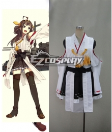 Kantai Collection KanColle Kanmusu Kongou Class Fast Battleship Cosplay Costume
