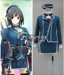 Kantai collection KanColle Atago Cosplay Costume