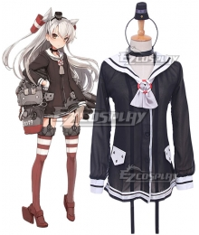 Kantai Collection Destroyer Amatsukaze Cosplay Costume
