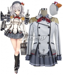 Kantai Collection KanColle Training Cruiser Kashima Cosplay Costume