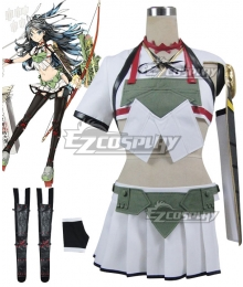 Kantai Collection KanColle Aircraft Carrier Katsuragi Cosplay Costume