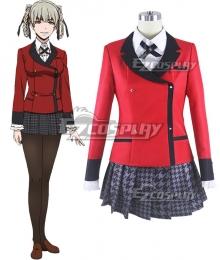Kakegurui Compulsive Gambler Kirari Momobami Cosplay Costume - New Edition