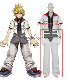 Kingdom Hearts 2 Roxas Cosplay Costume - The pants ONLY