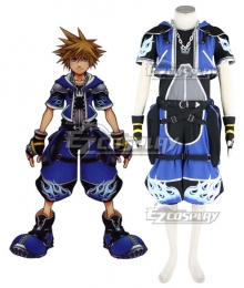 Kingdom Hearts 2 Wisdom Sora Cosplay Costume