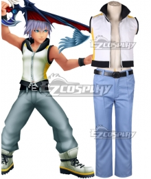Kingdom Hearts Traverse Town Riku Cosplay Costume