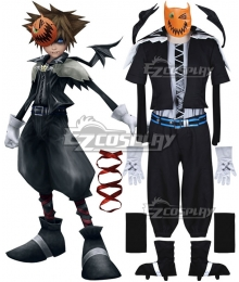 Kingdom Hearts 2 Halloween Town Sora Cosplay Costume