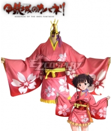 Kabaneri of the Iron Fortress Mumei Kimono Cosplay Costume