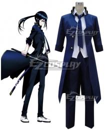 K Yatogami Kuroh Blue Cosplay Costume