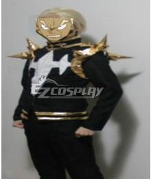 Kill la Kill Gamagori Ira Cosplay Costume in Black and Gold