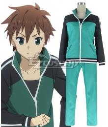 Kono Subarashii Sekai ni Shukufuku o Kazuma Sato Uniform Cosplay Costume
